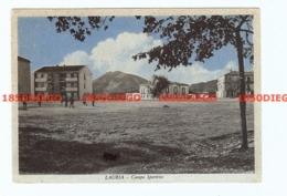 LAURIA - CAMPO SPORTIVO F/GRANDE VIAGGIATA 1957 ANIMAZIONE - Potenza