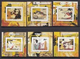 Angola Private Issue No Gum / Kamasutra - Postzegels