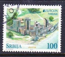 SERBIA, USED STAMP, OBLITRERÉ, SELLO USADO,EUROPA CEPT - 2017