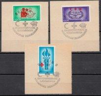 DDR 1966  Mi.nr. 1207-1209 Blutspendewesen  OBLITÉRÉS-USED-GEBRUIKT - [6] République Démocratique