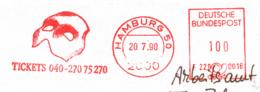 Freistempel 8341 Phantom Der Oper Musik - [7] République Fédérale