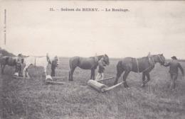 Cpa 11 SCENES DU BERRY LE ROULAGE Carte Vierge - France