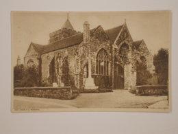 Rye : Church And Memorial - Rye