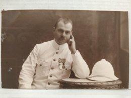 Carte Photo. Militaire. Robert Claeys. 1925. Congo Belge - Guerre, Militaire