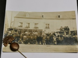 Carte Photo, Luxembourg, Tramway, Avec Pub - Andere