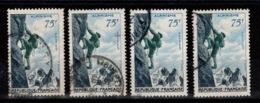 YV 1075 Alpinisme Oblitere En 4 Exemplaires Cote 12 Euros - France