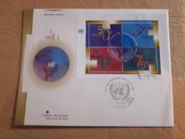 Argentine FDC, 50ème Anniversaire De L'ONU - FDC