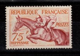 YV 965 à Peine Oblitere Equitation Cote 15 Euros - France