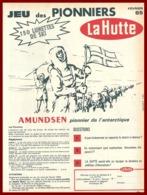 Jeu Des Pionniers. La Hutte. Amundsen. Pionnier De L' Antarctique. 1965. - Publicités