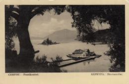 CORFOU , Greece , 1930s ; Pontikonissi - Grèce