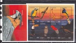 Guyana 1996 Birds Prey Fauna Klb+s/s MNH - Other