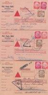 Lot De 3 Cartes Contre-rembourssement 1938 - Deutschland