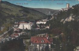 BADEN Bei Wien, Helenental, Gelaufen Um 1914, Seltene Frankierung, Sehr Gute Erhaltung - Baden Bei Wien