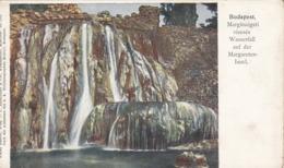 BUDAPEST Wasserfall - Künstlerkarte 1899?, Gel.1953 Mit 5 Gro Frank. + Sonderstempel - Künstlerkarten