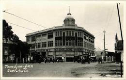 Indonesia, JAVA SOERABAIA, Toendjoengan, Department Store (1930s) RPPC Postcard - Indonesië