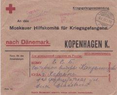 Lettre Prisonnier De Guerre 05.01.1917 Camp D'officier A Gnadenfrei Croix Rouge - Germania