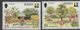 Jersey Europa 1999 N° 881/ 882 ** Reserves Et Parcs - 1999