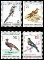 (021) Tunisia / Tunisie  Birds / Oiseaux / Vögel / Vogels  ** / Mnh   Michel 639-642 - Tunisie (1956-...)