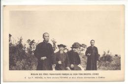 Le Père Irénée / Le Père Chinois Tchang à Chéfou - Chine
