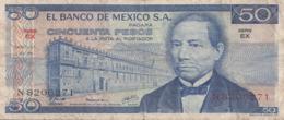 50 Pesos BANKNOTE MEXICO 1978 Umlaufschein - Messico