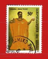 (Us3) MALI °  -1991 - DANSES Régionales - Yvert  569. Oblitérer. - Mali (1959-...)