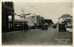 Indonesia, JAVA SOERABAIA, Toendjoengan, Adler, Cars (1930s) RPPC Postcard - Indonesië