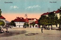CARANSEBES / CARAS-SEVERIN : PIATA UNIRII - ANNÉE / YEAR : 1929 (ac929) - Roumanie