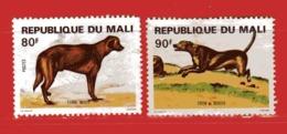 (Us3) MALI °  -1979 - CHIENS - Yvert  357-358. Oblitérer. - Mali (1959-...)
