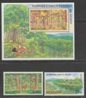 Moldavie Europa 1999 N° 263/ 264 Et BF N° 20 ** Reserves Et Parcs - Europa-CEPT