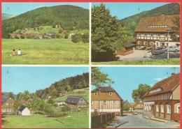 Waltersdorf, Kr. Zittau, Sonneberg, Konsum-Gaststätte Grenzbaude,Umgebindehäuser - Zittau