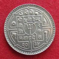 Nepal 1 Rupee 1977 Wºº - Nepal