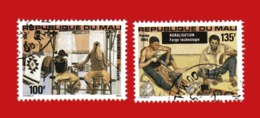 (Us3) MALI °  -1984 - RURALISATION  - Yvert  490-491. Oblitérer. - Mali (1959-...)