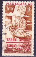 Madagascar 1948 Découverte De Terre Adélie Mi 417 Yv. TAAF! Oblitéré O - Usados