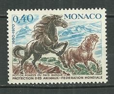 MONACO MNH ** 810 Poneys Du Pays Basque Cheval Chevaux Animal Animaux Animals - Neufs