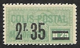 COLIS 1926 - Majoration - YT  44  - N** - Cote 6e - Mint/Hinged
