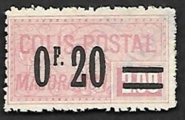COLIS 1926 - Majoration - YT 34 - Nsg - Spoorwegzegels