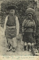 Indochina, TONKIN YUNNAM, Frontier Tribes, Native Meo Couple (1940) Postcard - Viêt-Nam