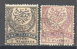 Turquie: Yvert N° 47-49 - 1858-1921 Empire Ottoman