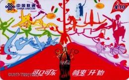 CHINA. COCA COLA - DEPORTE - BEIJING 2008. CUHT-T22(12-1). (777) - China