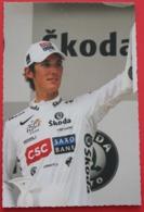 Cyclisme :  Tour De France 2008,  Andy Schleck , Maillot Blanc Du Meilleur Jeune - Cyclisme