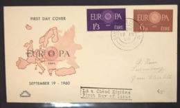 FDC IRLANDA EUROPA1960 - FDC