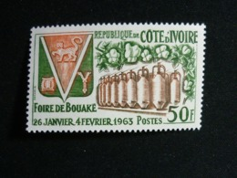 Ivory Coast, 1963 Bouake Fair, Jan. 26-Feb. 4. Scott #199 MNH Cv. 2,75$ - Costa D'Avorio (1960-...)