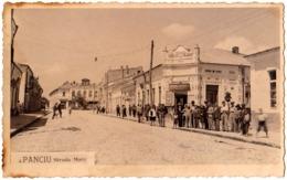 PANCIU / VRANCEA : STRADA MARE - COLONIALE / DELICATESE - CARTE VRAIE PHOTO / REAL PHOTO POSTCARD ~ 1930 (ac932) - Rumania