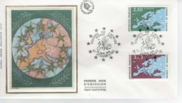 France - FDC - 1er Jour 23  NOVEMBRE1991 - CONSEIL DE L'EUROPE - FDC