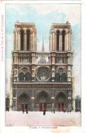 """CPA 75 Paris - Pub """"Chocolat & Thé De La Cie Coloniale"""" - La Façade De Notre-Dame Couleur - Notre Dame De Paris"""