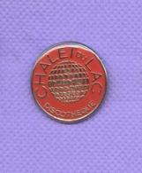 Rare Pins Discotheque Le Chalet Du Lac J544 - Città