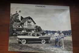 GRANDE PHOTOGRAPHIE DE LA SICMA CHAMBORD / DEBUT ANNEES 1960 - Otros