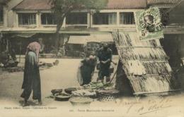 Indochina, SAIGON, Marchande Annamite, Native Market (1910) Postcard - Viêt-Nam