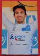 Cyclisme :  Tour De France 2016 Adam Yates , Maillot Blanc Du Meilleur Jeune - Cyclisme