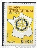 2005 FRANCE 3750A** Ou Adhésif 52** Rotary - France